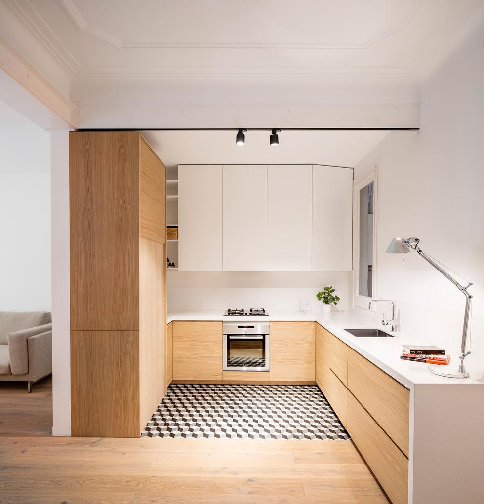 Cucine Moderne In Rovere Chiaro.100 Idee Cucine Moderne In Legno Bianche Nere Colorate