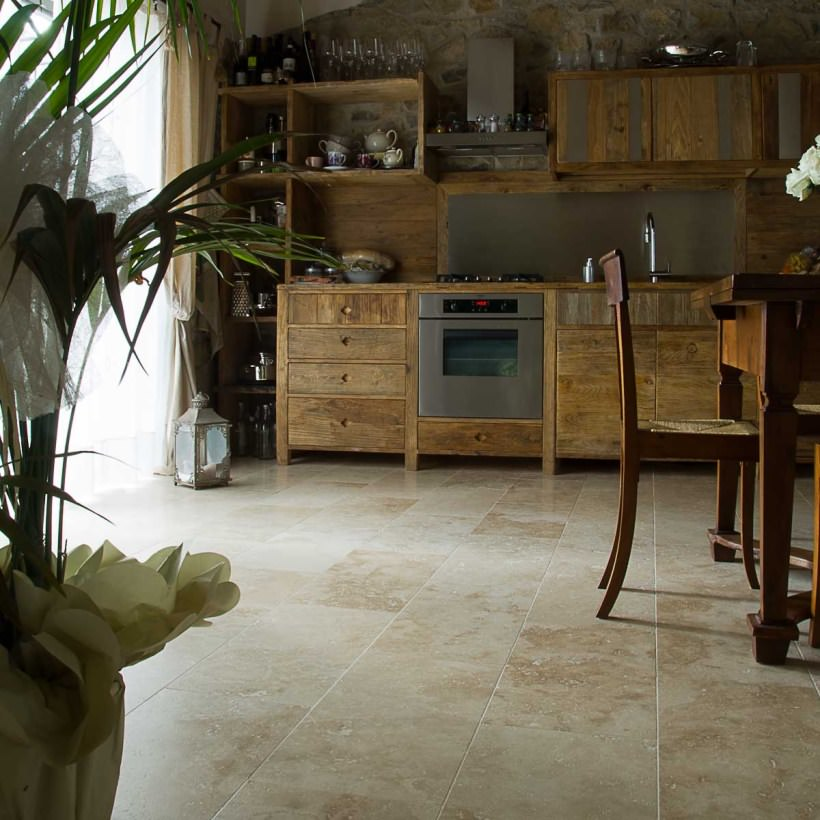 Pavimenti cucina guida alla scelta dei migliori for Interni case rustiche