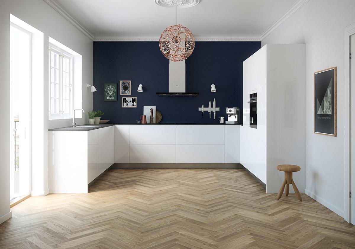 Parquet Scuro O Chiaro pavimenti cucina • guida alla scelta dei migliori materiali