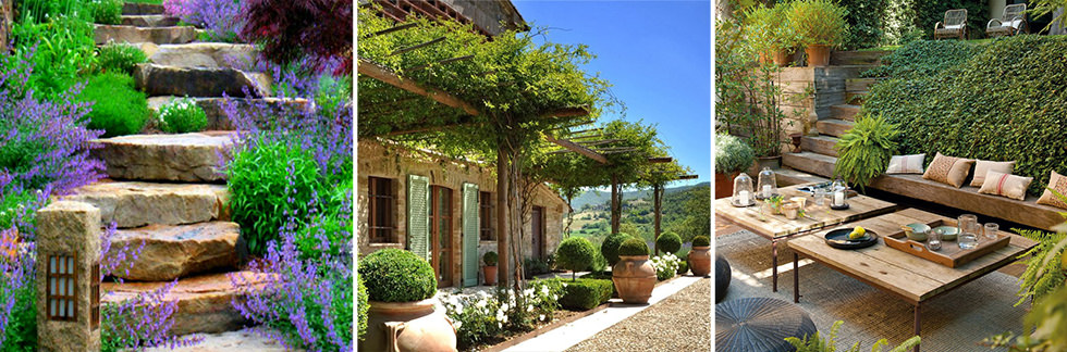 Progettare un giardino rustico pieno di colori e calore for Giardini ornamentali