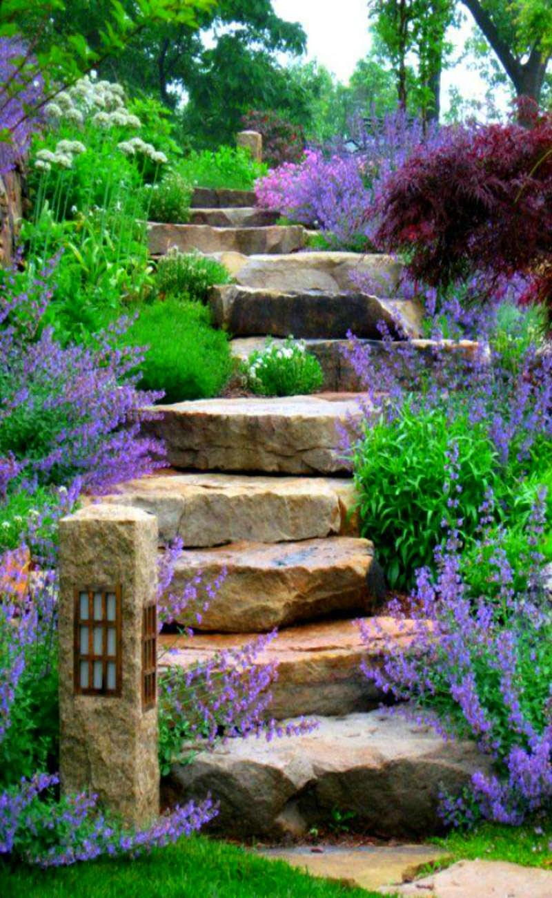 Progettare Un Giardino In Campagna progettare un giardino rustico pieno di colori e calore