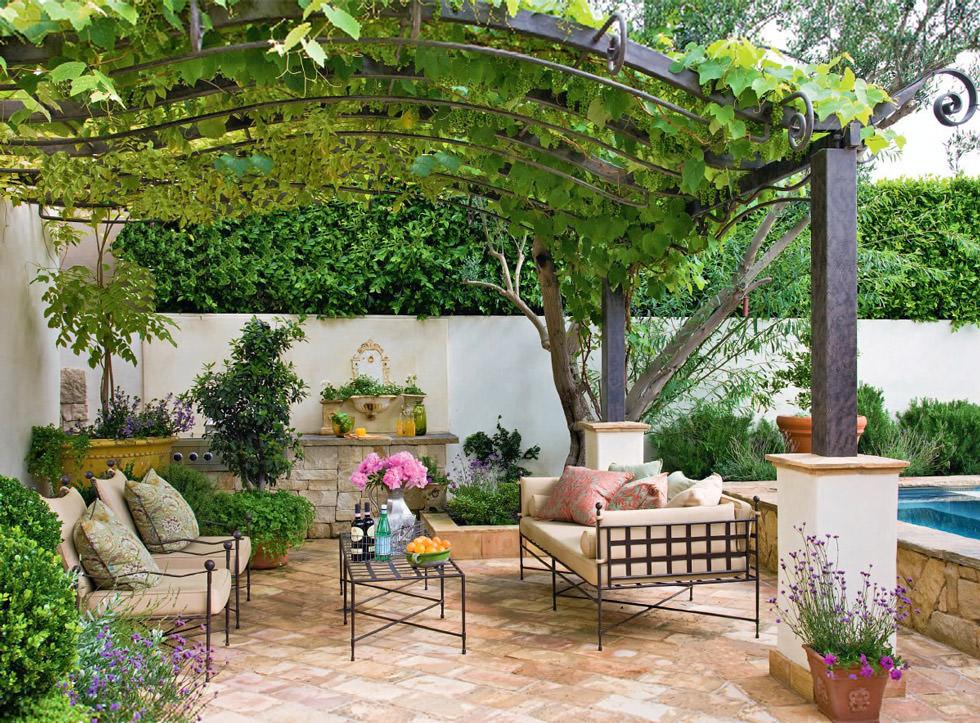 Progettare un giardino rustico pieno di colori e calore for Idee per il giardino economiche