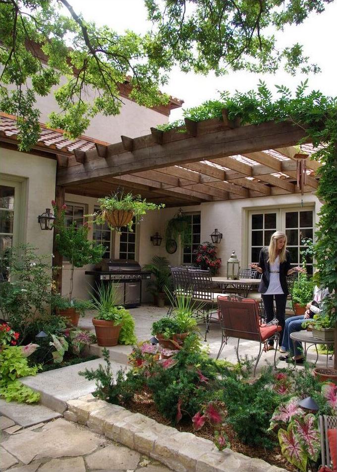 Progettare un giardino rustico pieno di colori e calore • Guida & 25 ...