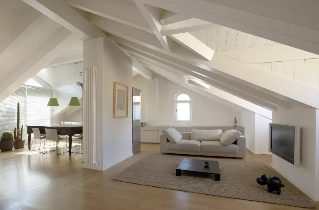 Plafoniere Da Mansarda : Illuminazione mansarda u illuminare l attico con luce naturale o