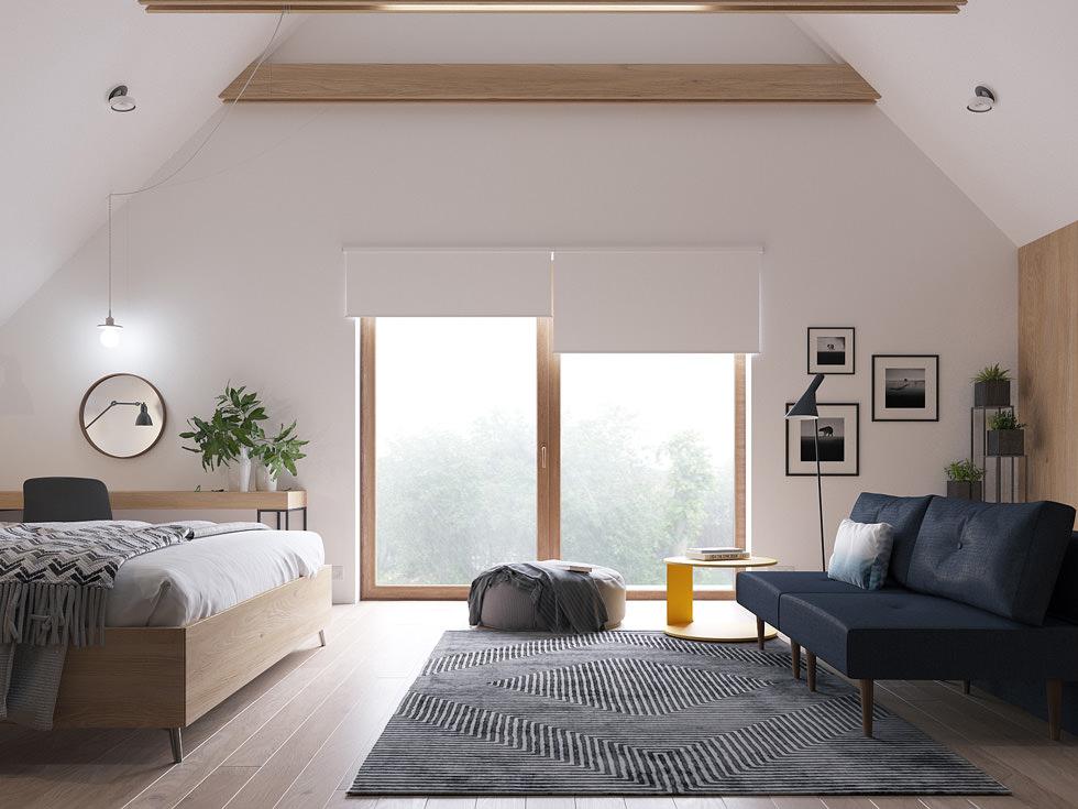 Illuminazione mansarda u illuminare l attico con luce naturale o