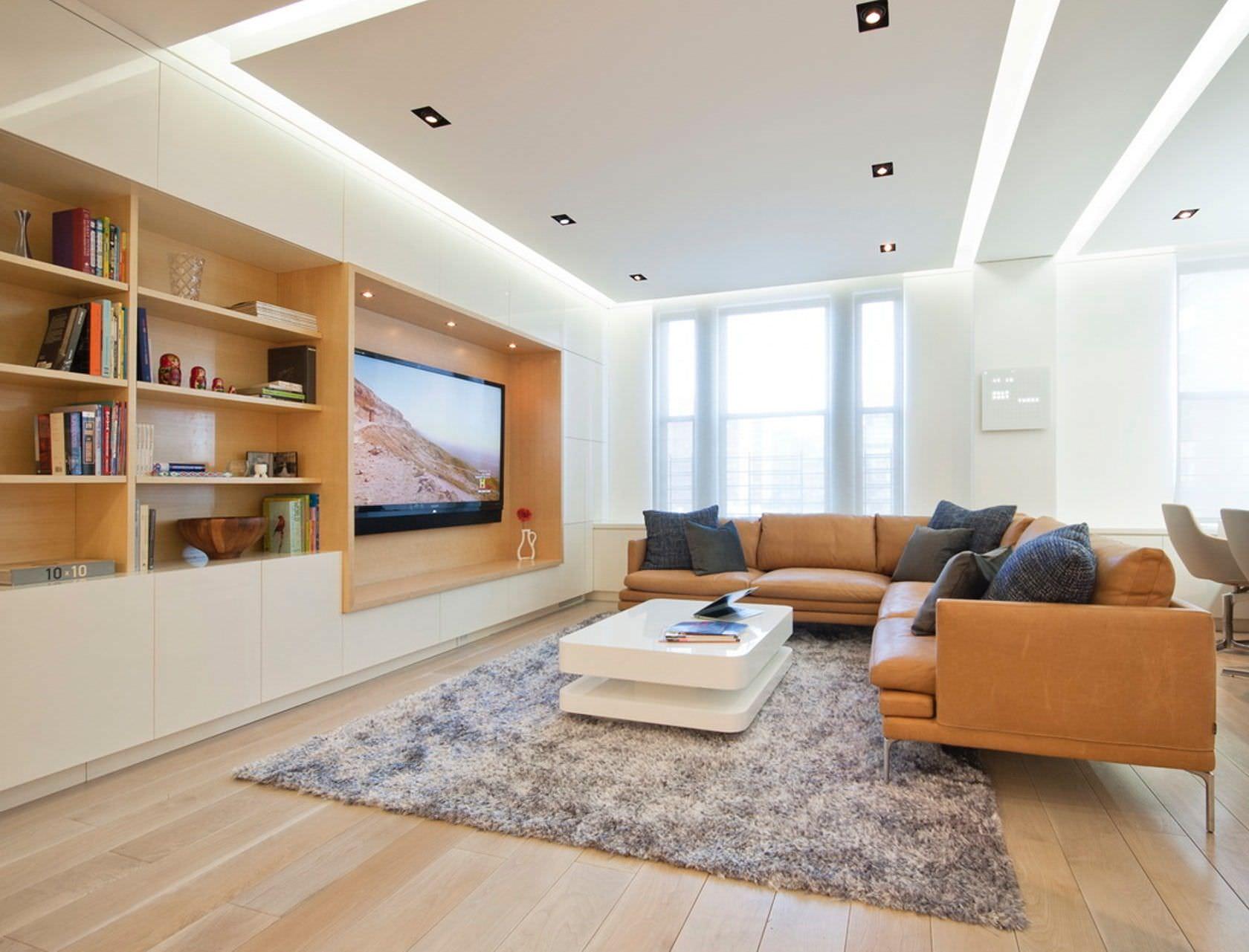 Controsoffitti in cartongesso utilizzo prezzi e 50 idee for Soluzioni per soggiorno