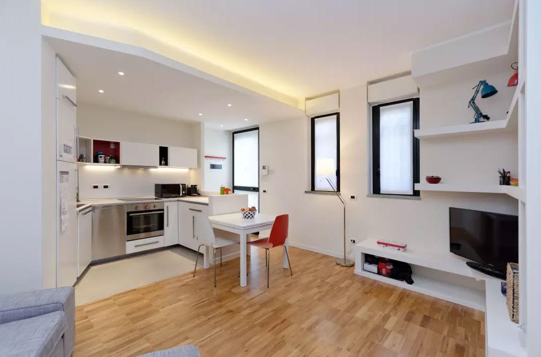 Cucina E Sala Open Space Piccolo.Controsoffitti In Cartongesso Utilizzo Prezzi E 50 Idee Per Un