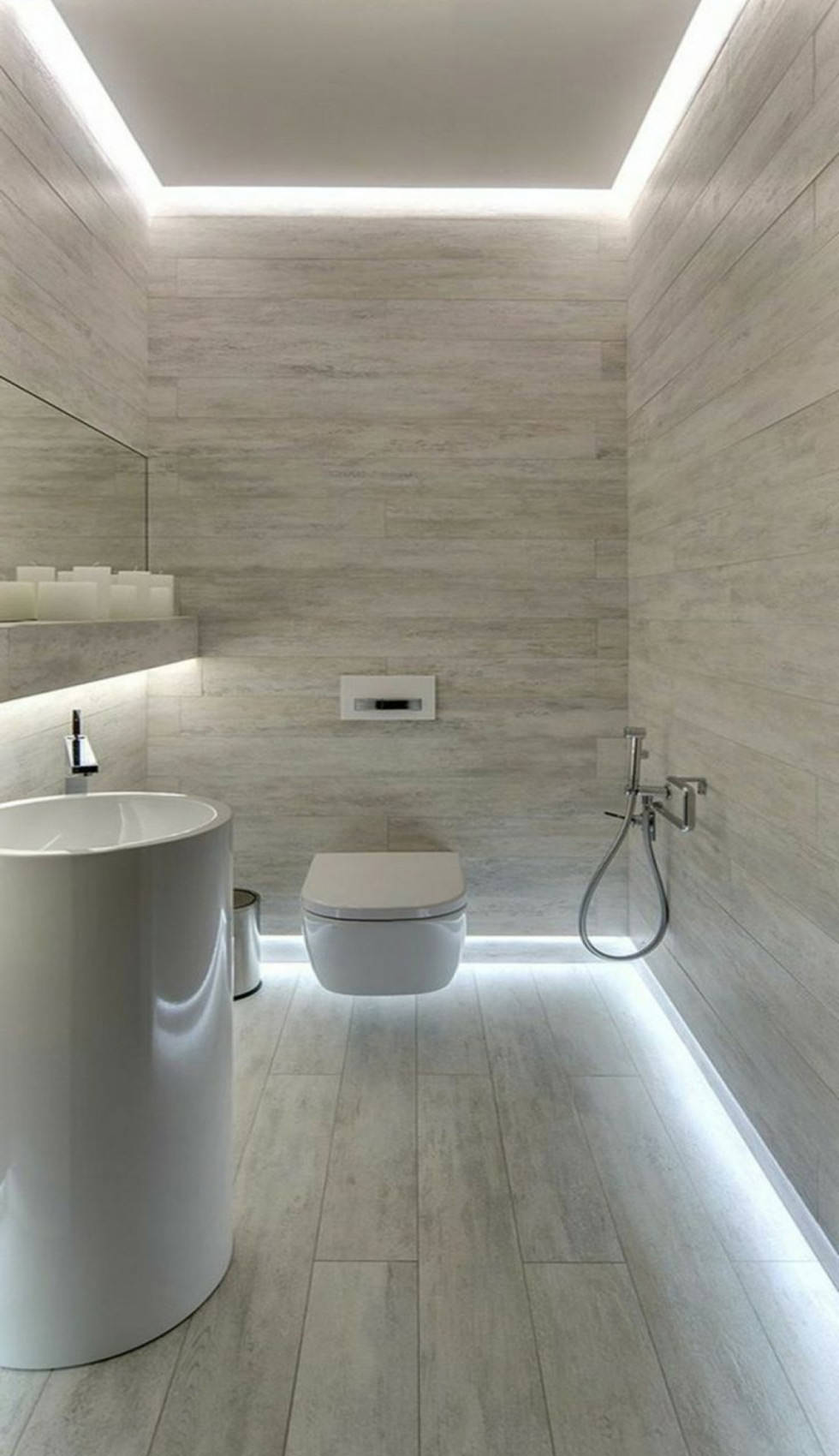 Controsoffitti in cartongesso utilizzo prezzi e 50 idee for Prezzi bagni moderni