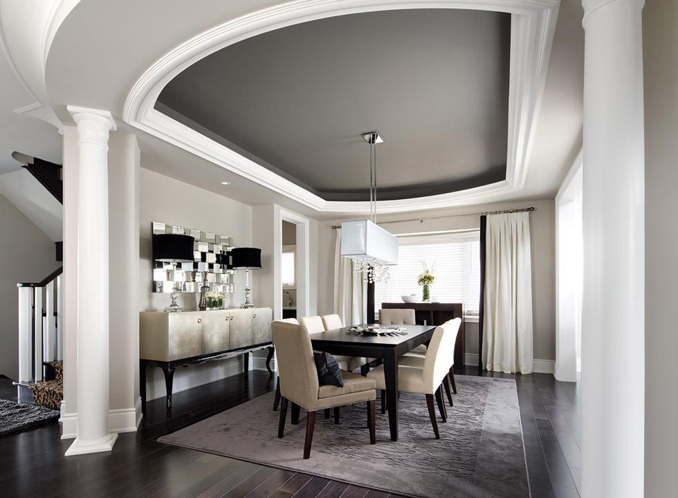 Pittura Per Soffitti Cucina : Soffitti decorati u idee per rendere unico il soffitto di casa