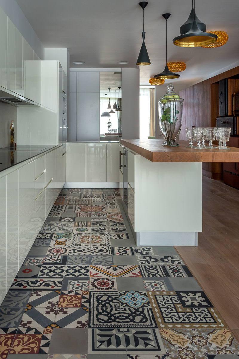 25 idee di piastrelle Patchwork per una casa moderna e colorata ...