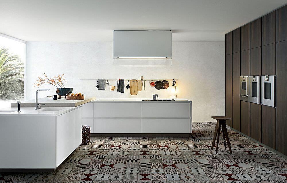 25 idee di piastrelle patchwork per una casa moderna e for Pavimenti per cucina e soggiorno