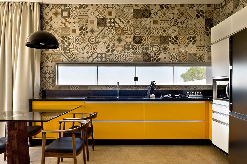 Idee di piastrelle patchwork per una casa moderna e colorata