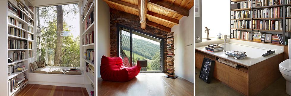 100 idee angolo lettura per una stupenda casa moderna for Idee per casa moderna