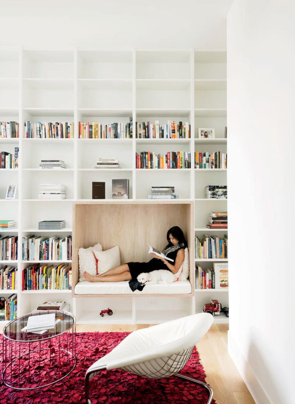 Come Allestire Una Libreria 100 idee angolo lettura per una stupenda casa moderna