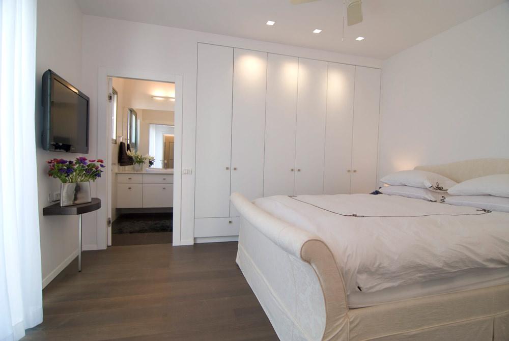 Letto Matrimoniale Incassato Nel Muro : Ristrutturare camera da letto con il cartongesso u2022 40 idee lavori in