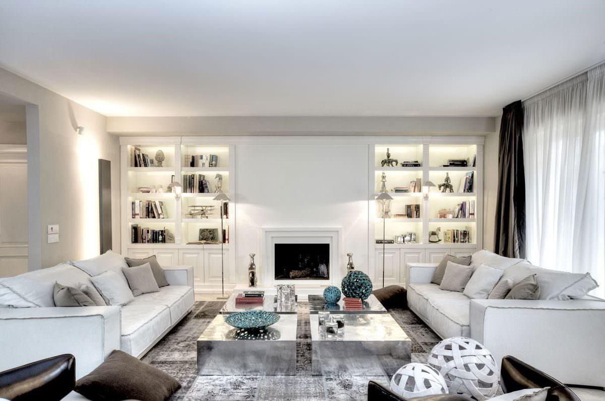 Parete attrezzata in cartongesso per il soggiorno • Info, prezzi e ...