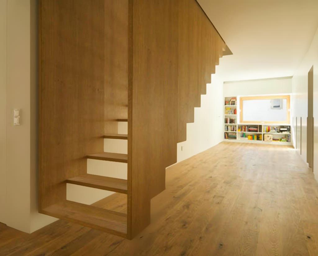 Ringhiera Scala Fai Da Te scale interne in legno • guida introduttiva e 40 idee per