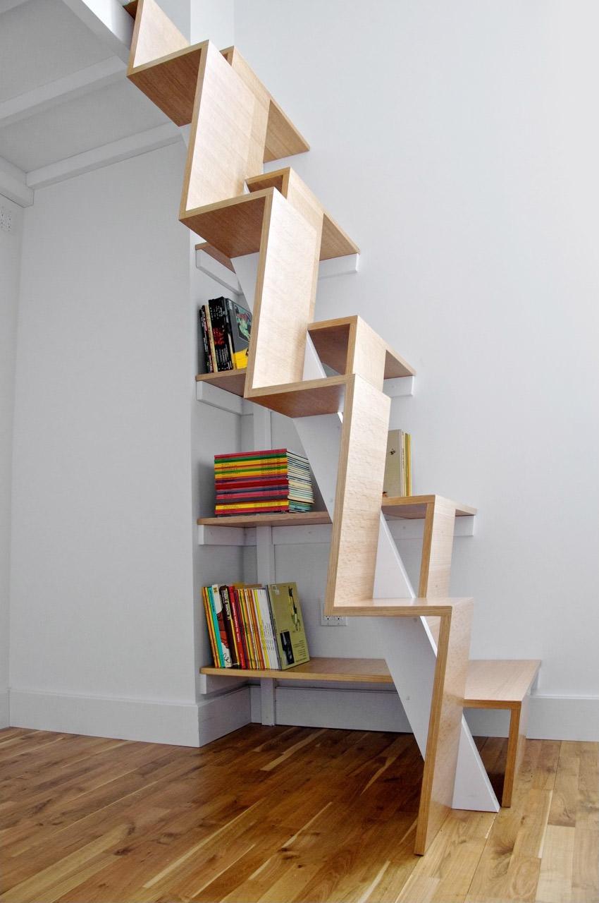 Piccoli Soppalchi In Legno 40 idee scale moderne e creative per una salita in stile