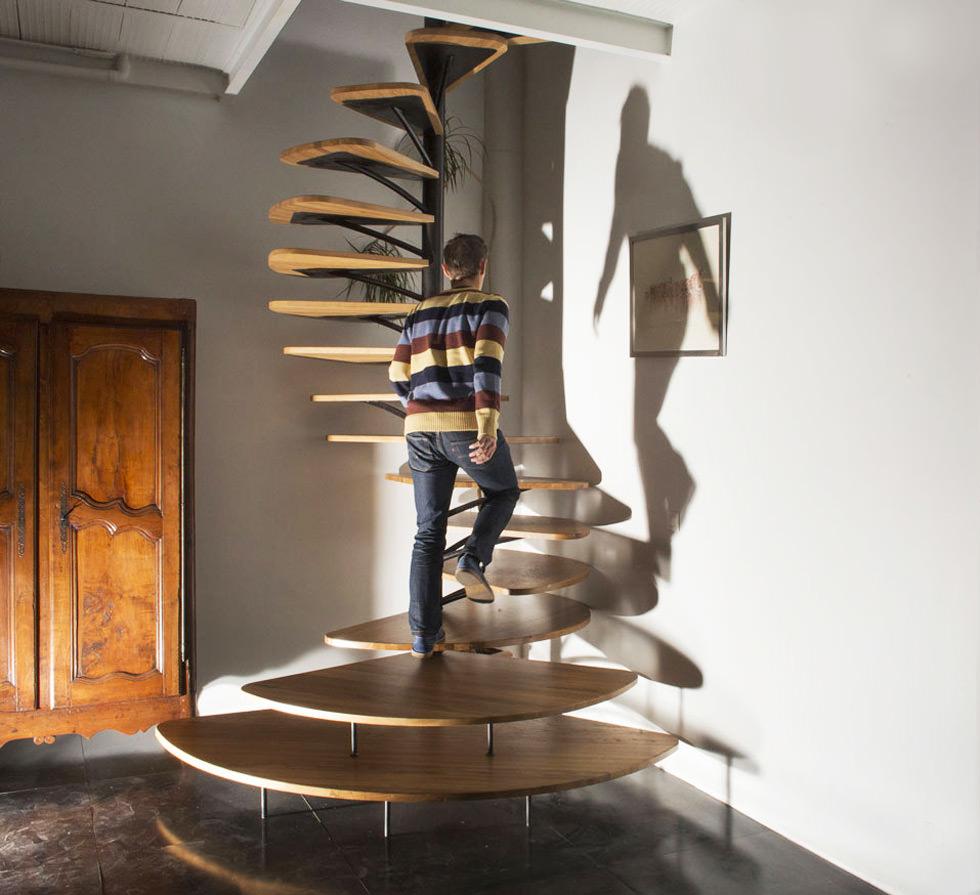 Disegnare Una Scala A Chiocciola 40 idee scale moderne e creative per una salita in stile