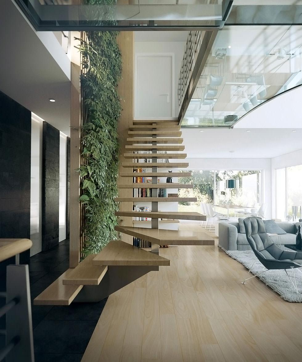 Scale Moderne Design.40 Idee Scale Moderne E Creative Per Una Salita In Stile