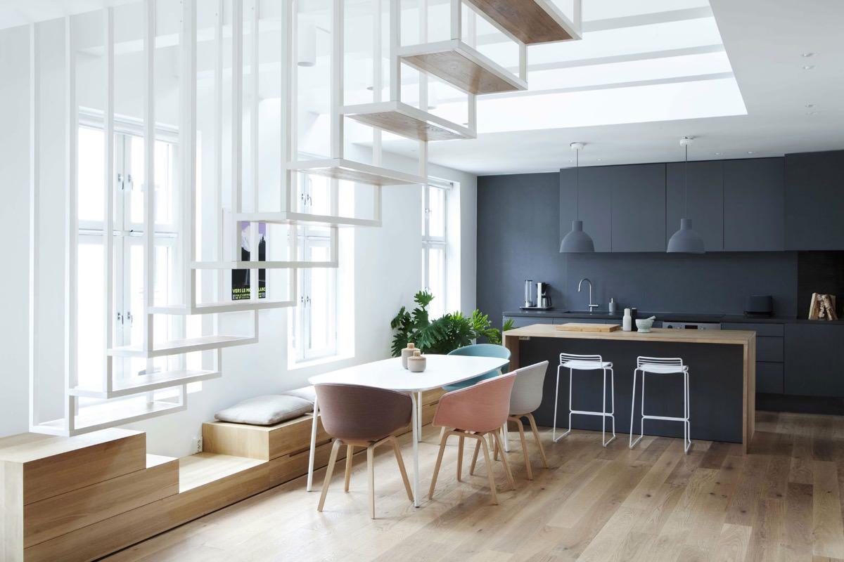 Scala Bianca Moderna.40 Idee Scale Moderne E Creative Per Una Salita In Stile