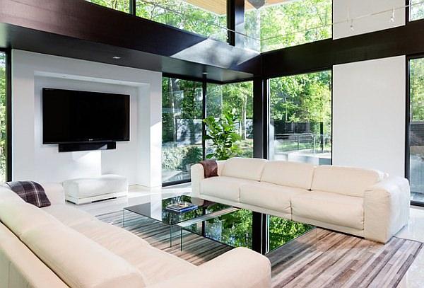 40 idee soggiorni minimal per una stupenda casa moderna On salotti minimal