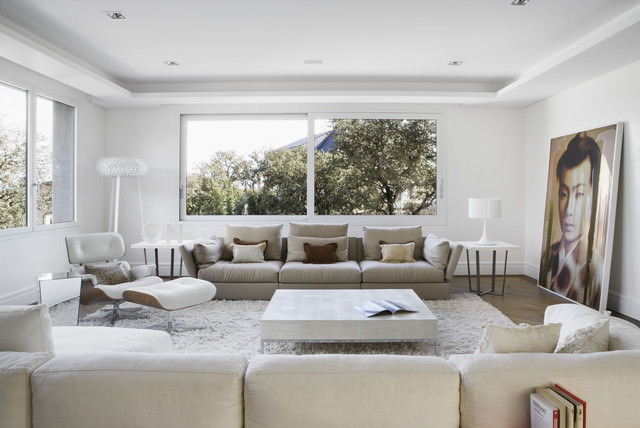 40 idee soggiorni minimal per una stupenda casa moderna for Salotto casa moderna