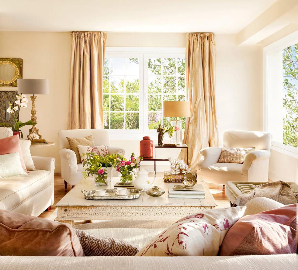 Quadri Classici Per Arredamento colore pareti soggiorno • cambiare stile senza spendere una