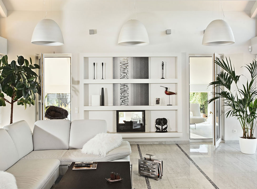 Soggiorno contemporaneo 100 idee e ispirazioni per il for Decorazioni per pareti soggiorno