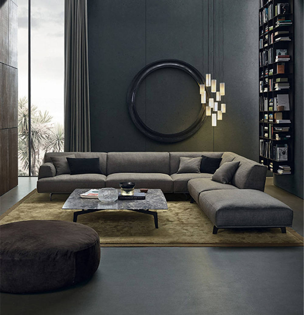 Soggiorno Con Divano Grigio Scuro soggiorno moderno • 100 idee per il salotto perfetto