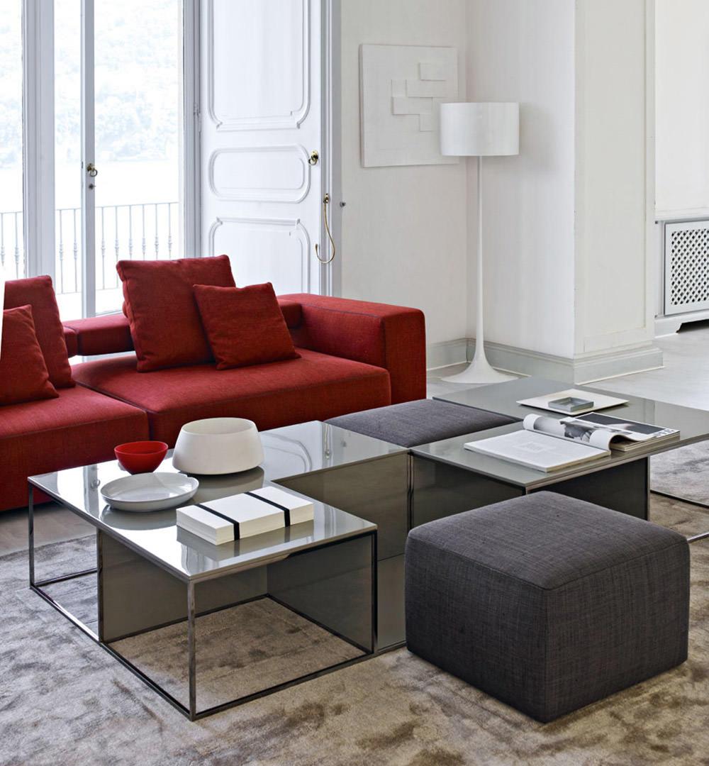 Divano E Tavolo Insieme soggiorno moderno • 100 idee per il salotto perfetto