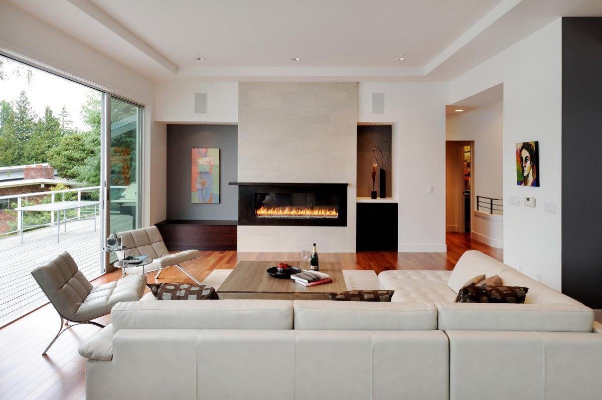 Soggiorno moderno 100 idee per il salotto perfetto for Salotto bianco
