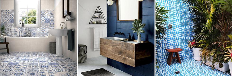 Idee bagno blu e bianco - Blog Start Preventivi
