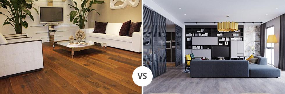 Parquet Laminato vs Pavimenti in legno