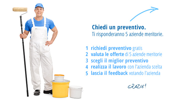 Slider richiesta preventivi pittore