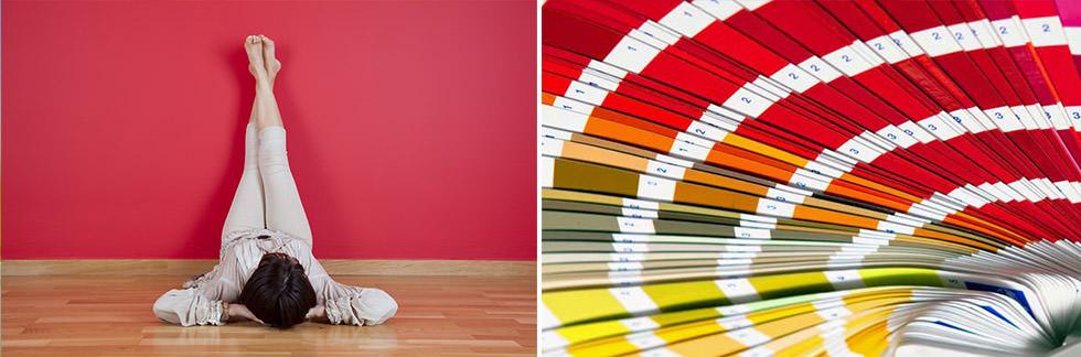 SOGGIORNO // Colori pareti