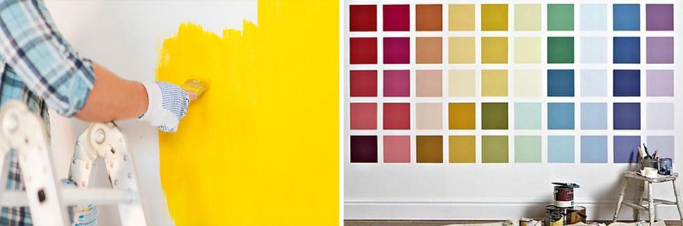PITTURARE CASA // Tecniche, colori, costi e idee