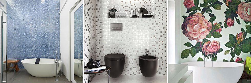 BAGNO // Pavimenti e rivestimenti in mosaico