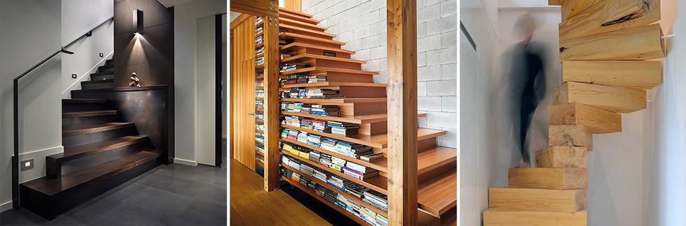 SCALE // 40 idee scale in legno