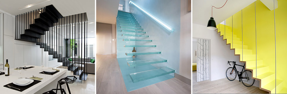 40 idee scale moderne e creative per una salita in stile • Idee ...