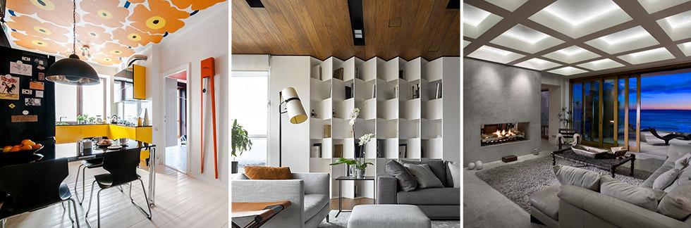 MURI & SOFFITTI // 40 idee soffitti decorati