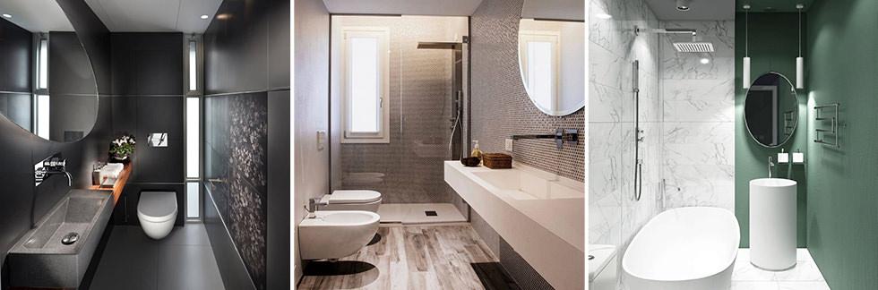 BAGNO // Ristrutturare un bagno stretto e lungo