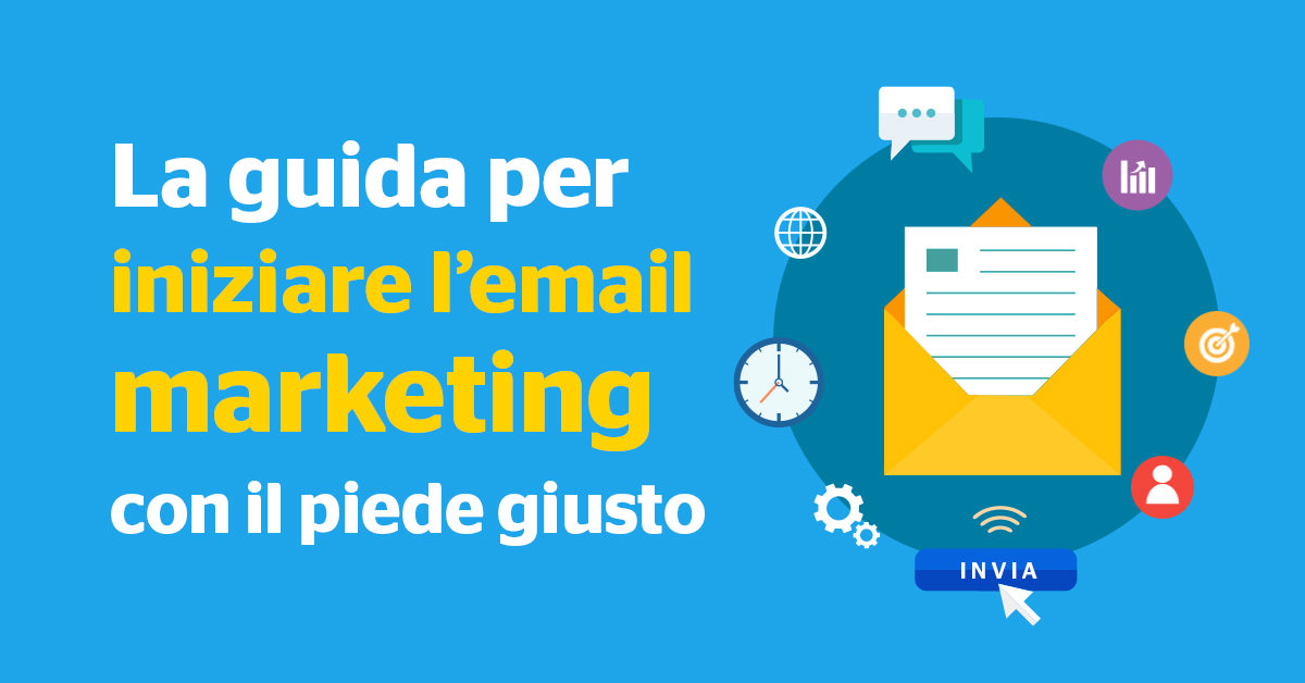 Guida per iniziare l'email marketing con il piede giusto - Start Preventivi