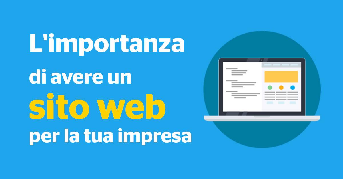 SITO WEB // L'importanza di avere un sito web per la tua impresa